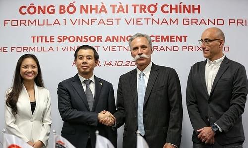 Grand Prix Việt Nam có nhà tài trợ trẻ nhất lịch sử F1