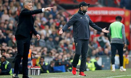 Nếu muốn, Klopp có thể đã dẫn dắt Man Utd từ lâu. Ảnh: Reuters