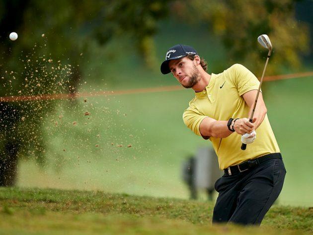 Pieters thi đấu ở vòng cuối Italian Open. Ảnh: Reuters.