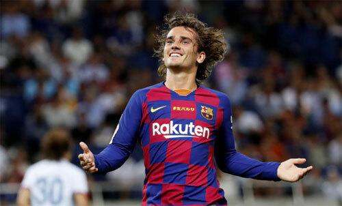 Sẽ rất xa xỉ nếu Barca mua Griezmann chỉ để dự bị cho Messi và Suarez. Ảnh: Reuters