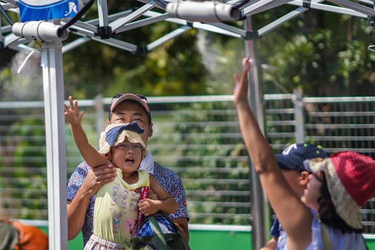 Thời tiết nóng tại Tokyo được cho là không phù hợp để thi đấu các môn thể thao sức bền ngoài trời như marathon hay đi bộ. Ảnh: NYT.