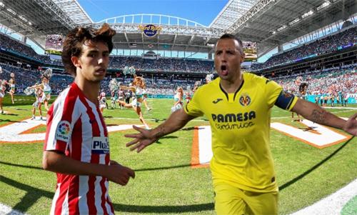 La Liga xuất khẩu các trận đấu ra nước ngoài. Ảnh: Marca