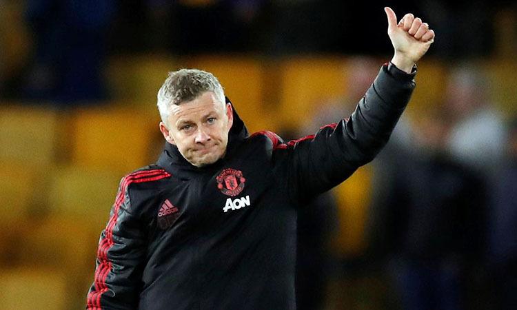 Man Utd của Solskjaer đang xếp thứ 12 ở Ngoại hạng Anh. Ảnh: Reuters.