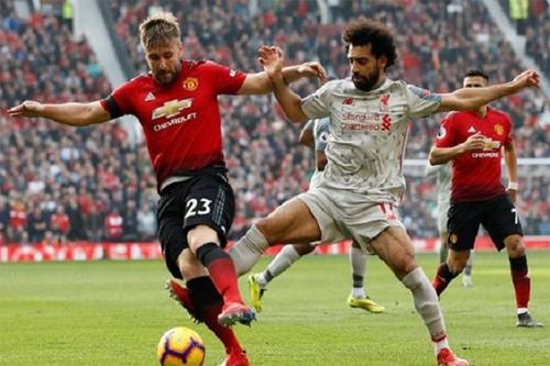 Liverpool ở cửa trên so với Man Utd hiện tại. Ảnh: Reuters
