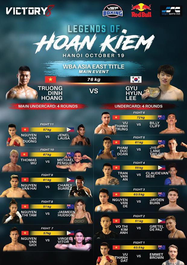 Hôm nay Trương Đình Hoàng tranh đai WBA Đông Á - 1