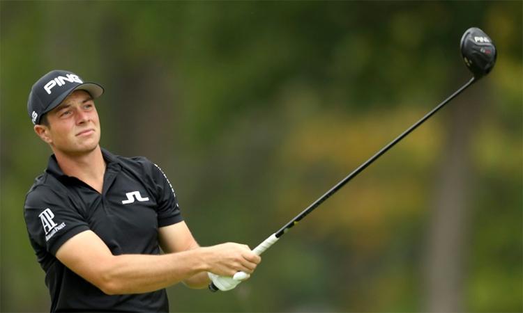 Hovland giữ kỷ lục với 19 lần liên tiếp đạt bảng điểm dưới 70 gậy ở PGA Tour. Ảnh: AFP.