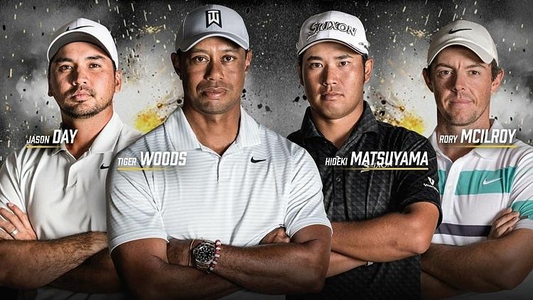 Bốn golfer sẽ tranh tài ởThe Challenge: Japan Skin 2019.