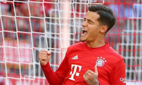 Coutinho lấy lại sự tự tin khi tới Bayern. Ảnh: Reuters