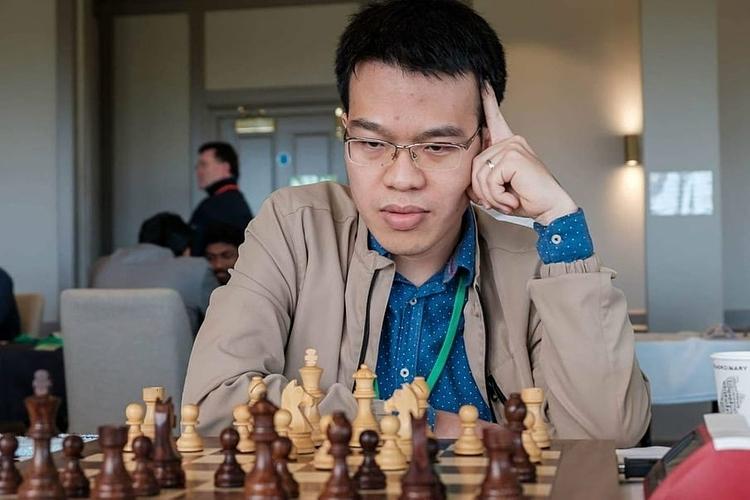 Quang Liêm thi đấu thành công tại giải. Ảnh: Chess.com.