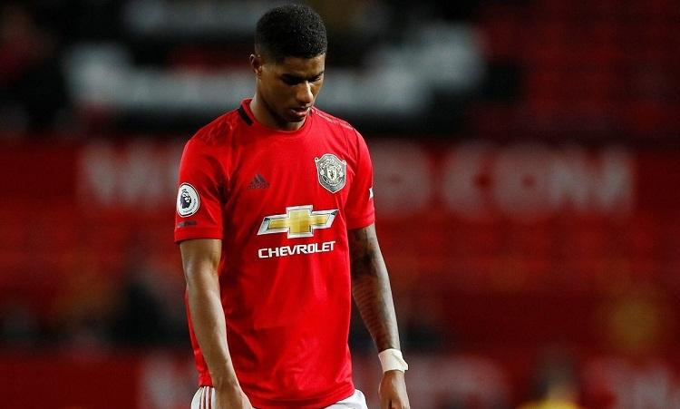 Man Utd tụt hai bậc trên bảng điểm Ngoại hạng Anh sau vòng 9. Ảnh: Reuters.