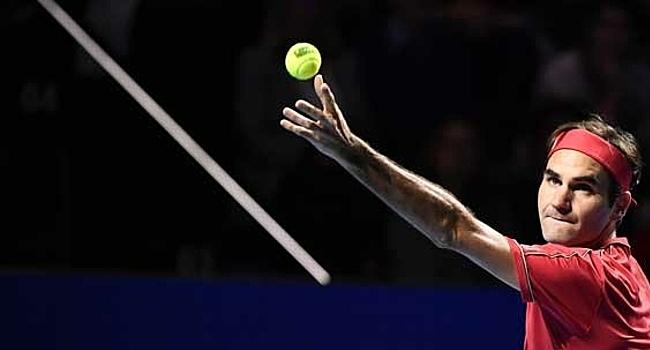 Federer vào chung kết ở cả 12 lần gần nhất dự ATPBasel. Ảnh: AFP.