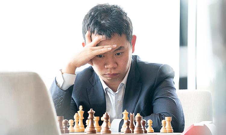 Vương Hạo trở thành kỳ thủ thứ tư giành suất dự Candidates 2020, sau Caruana, Teimour Radjabov và Đinh Lập Nhân. Ảnh: Chess.com.