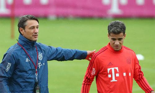 Coutinho đang nỗ lực tìm lại hình ảnh ngôi sao dưới sự dẫn dắt của HLV Kovac. Ảnh: Reuters