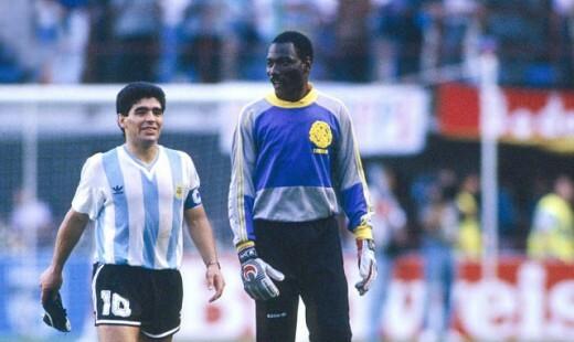 Mà trình diễn xuất thần của Thomas NKono trong trận Cameroon - Argentina ở World Cup 1990 là cảm hứng để Buffon theo đuổi sự nghiệp thủ môn. Ảnh: colgadosporelfutbol.
