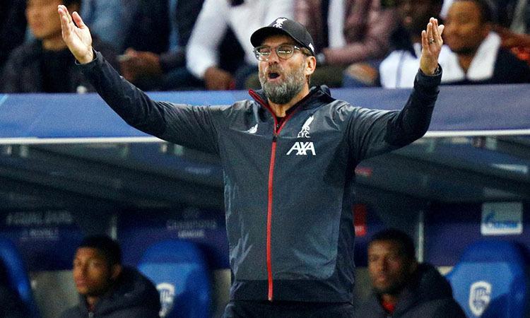 Klopp đánh giá cao Tottenham trước cuộc đọ sức tối 27/10. Ảnh: Reuters.
