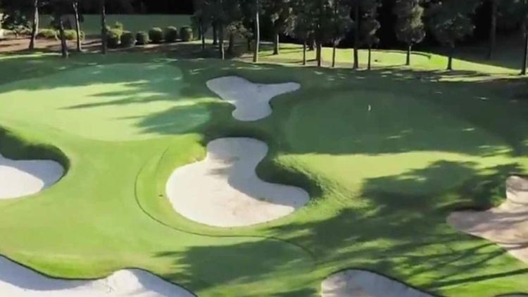 Một góc sân Accordia Golf Narashino Country Club.