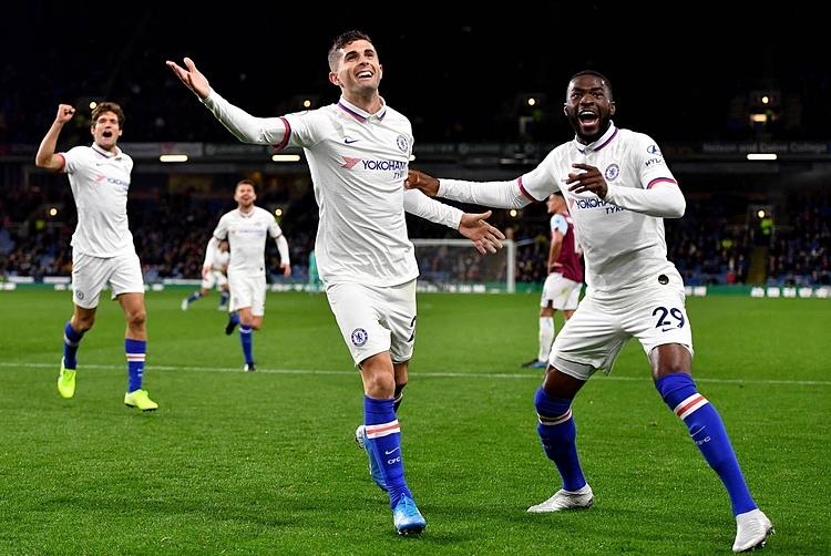 Pulisic ghi hat-trick hoàn hảo cho Chelsea