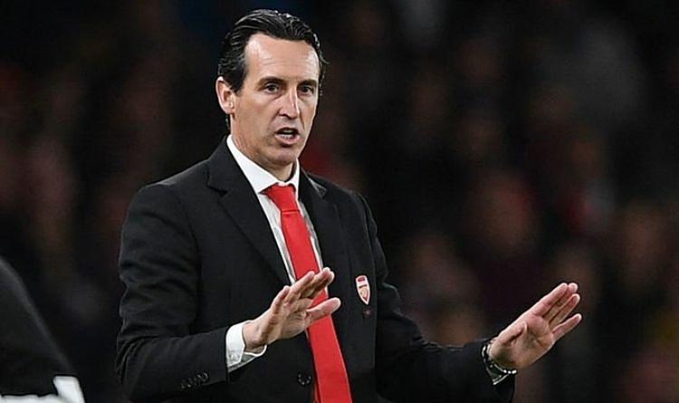 HLV Emery đang chịu sức ép lớn tại Emirates. Ảnh: Talksport.