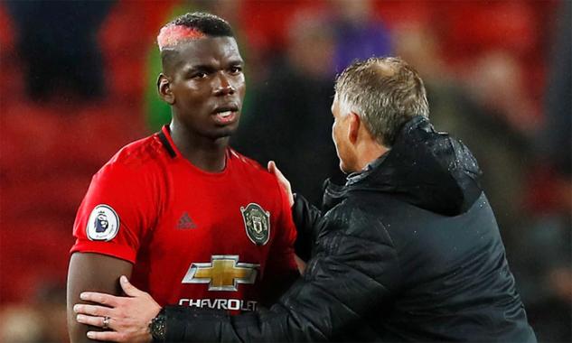 Pogba mới đá sáu trận cho Man Utd mùa này. Ảnh: Reuters.