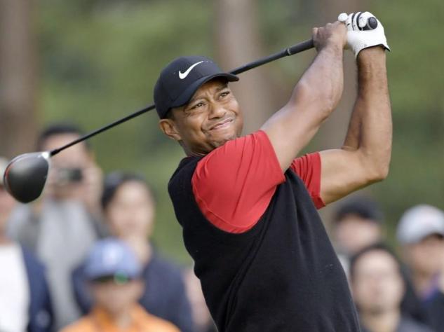 Woods đăng quang sau khi dẫn đầu qua cả bốn vòng của Zozo Championship. Ảnh: Reuters.