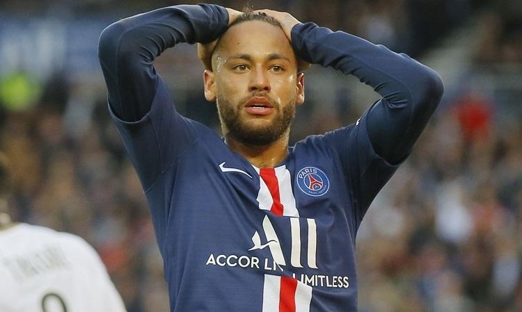 Chấn thương khiến Neymar không có nhiều đóng góp cho PSG. Ảnh: Reuters.