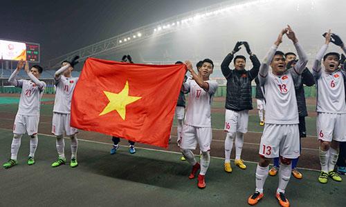 Đa số cầu thủ U23 Việt Nam lọt vào tứ kết giải U23 châu Á đã bị loại ngay sau vòng bảng ở SEA Games 2017. Ảnh: Anh Khoa.