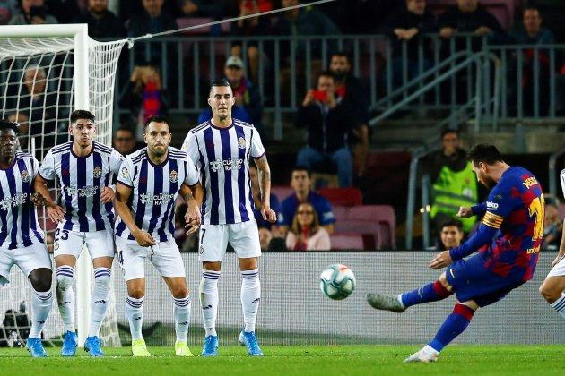 Barca đang dần lấy lại độ ổn định theo đà phồi phục, lấy lại phong độ của Messi. Ảnh: EFE.