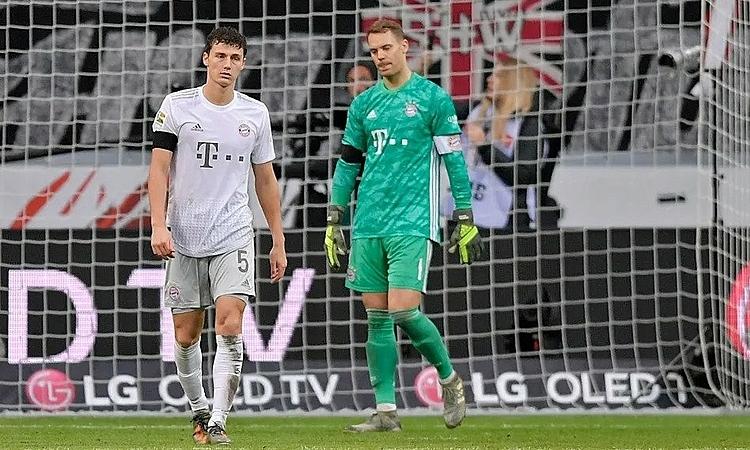 Thủ môn Neuer giúp Bayern chỉ thua năm bàn trận này. Ảnh: FCB.