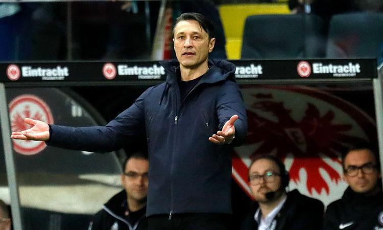 HLV Kovac rời Bayern sau 16 tháng làm việc. Ảnh: REX.
