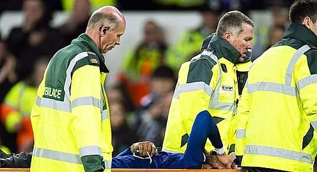 Gomes được đưa thẳng đến bệnh viện. Ảnh: BPI.