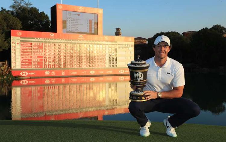 Sau chức vô địch ở Thượng Hải, McIlroy rất tự tin sẽ chiếm ngôi số một thế giới. Ảnh:USA Today.