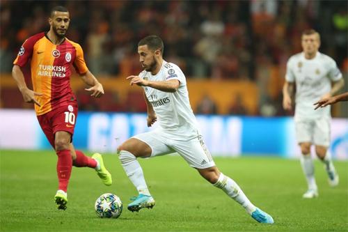 Hazard chưa đạt phong độ tốt như kỳ vọng. Ảnh: EFE