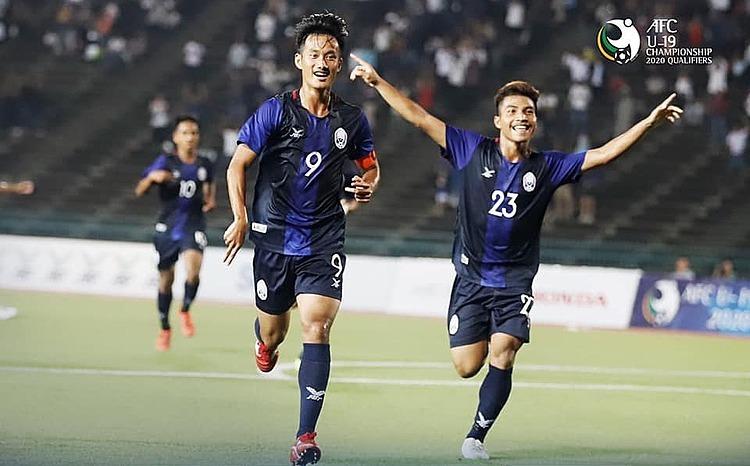 Campuchia sở hữu lứa cầu thủ sinh năm 2001-2002 đáng gườm. Ảnh: AFC.