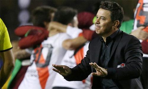 Gallardo còn trẻ nhưng đang gặt hái thành công lớn tại Nam Mỹ. Ảnh: Reuters