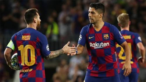 Thế hệ Messi, Suarez đang đi đến cuối sự nghiệp tại Barca. Ảnh: Reuters