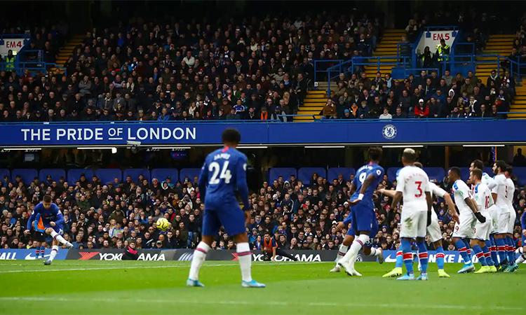 Chelsea chơi áp đảo trong phần lớn thời gian và xứng đáng có ba điểm trọn vẹn. Ảnh: Reuters.