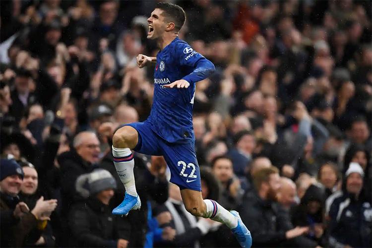 Chelsea đang bay bổng với sáu trận gần nhất toàn thắng. Ảnh: Reuters.