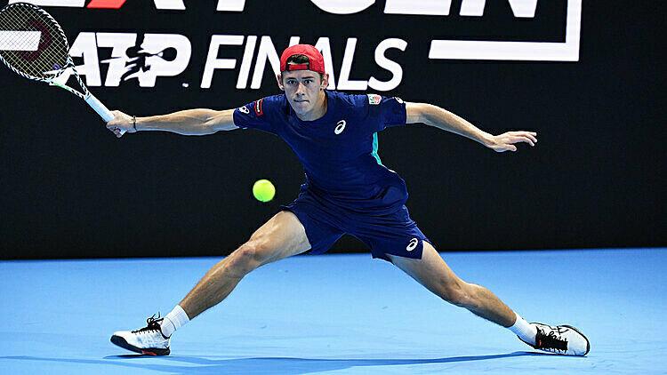 De Minaur toàn thắng từ đầu giải. Ảnh: ATP.