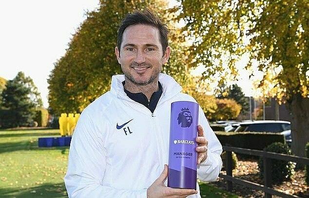 Lampard giúp Chelsea thắng bảy trận liên tiếp trên sân khách. Ảnh: EPL.