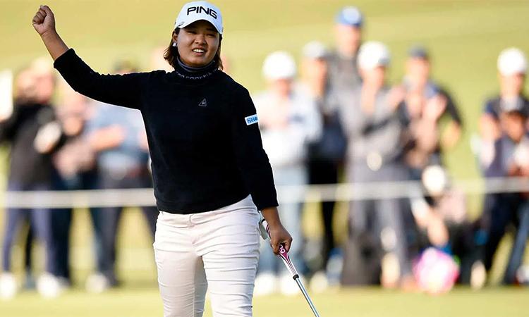 Suzuki đang có cơ hội lớn để sở hữu danh hiệu LPGA Tour đầu tiên. Ảnh: AP.