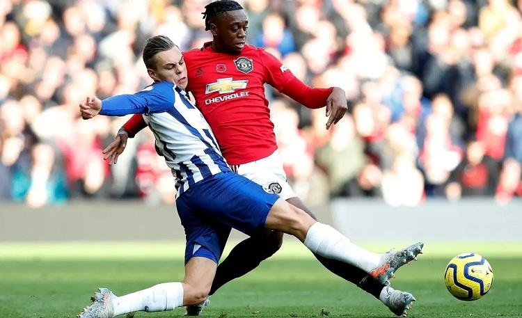 Man Utd cho thấy chênh lệch đẳng cấp so với Brighton. Ảnh: Reuters.