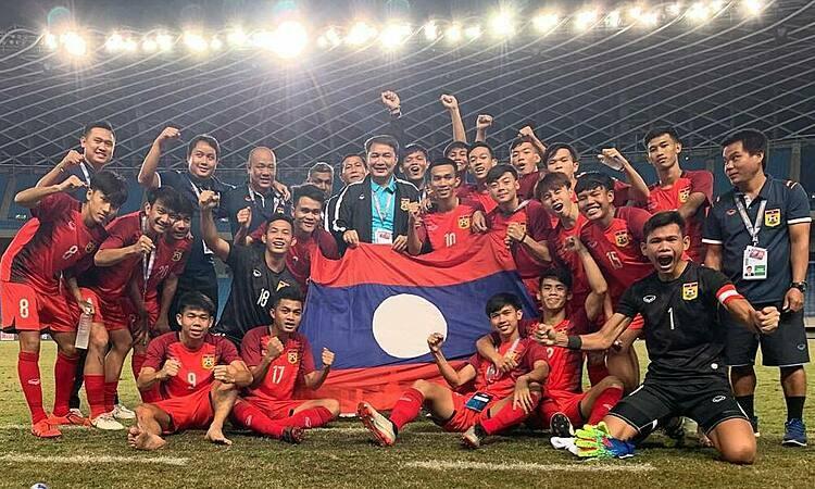 Lào vượt qua vòng loại U19 châu Á 2020, trong đó có trận hoà bất ngờ trước Australia.