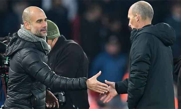 Guardiola cảm ơn trọng tài sau trận thua Liverpool