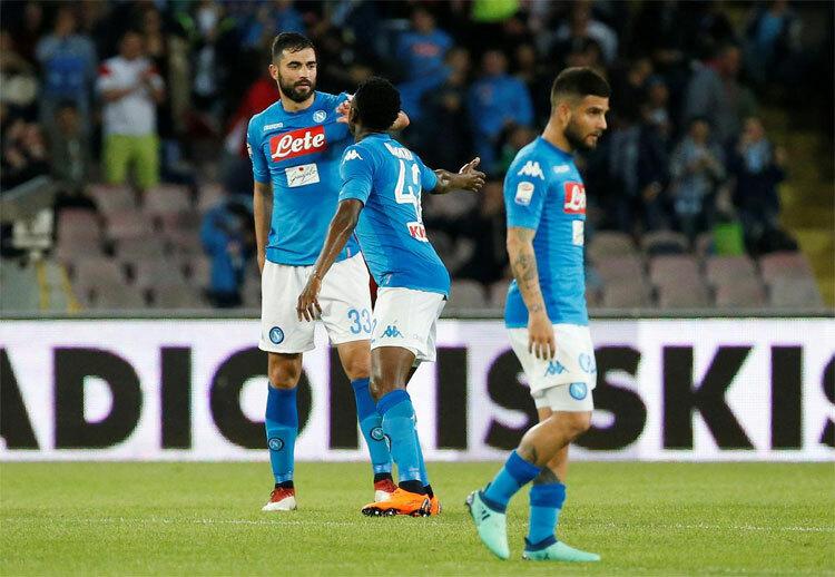 Napoli không còn là đội bóng mạnh mẽ như trước. Ảnh: Reuters