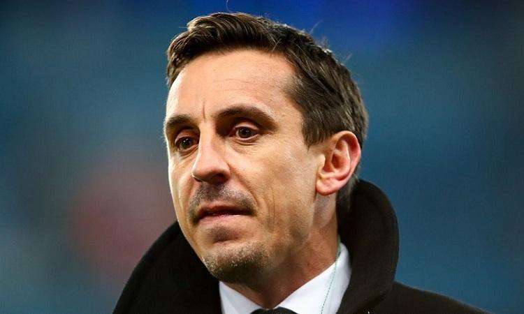 Gary Neville thừa nhận không thể nuốt trôi chiến thắng của Liverpool. Ảnh: Reuters.