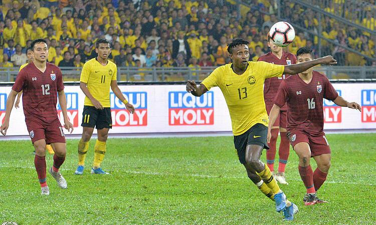 Sumareh (số 13) đón bóng và ghi bàn quyết định. Ảnh: FAM.