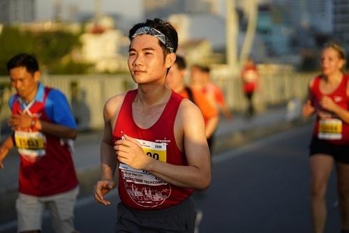 Runner tham gia giải chạy năm ngoái.