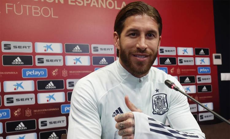 Ramos muốn Real thắng ngay trên sân của Barca. Ảnh: AS
