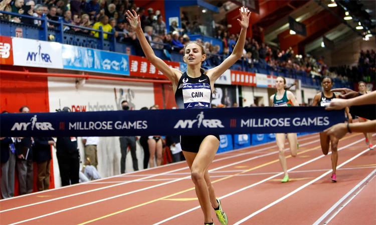 Cain từng được kỳ vọng sẽ trở thành siêu sao hàng đầu trong môn chạy bộ với thành tích ấn tượng trong giai đoạn đầu sự nghiệp, trước khi cô gia nhập Oregon Project và sa sút với quá trình dùng thuốc. Ảnh: AP.