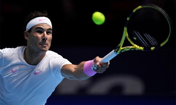 Nadal thắng chật vật trước đàn em. Ảnh: Reuters.